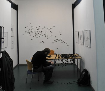 Installing exhibition (1)