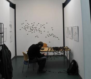 Installing exhibition (1)