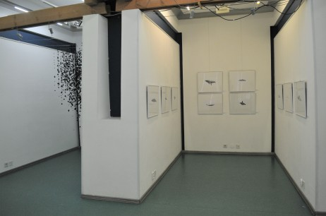 Installing exhibition (2)