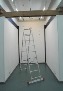 Installing exhibition (3)