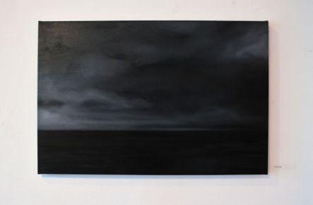 Dusk or Dawn (oil on canvas)