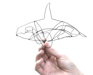 Wire Whale