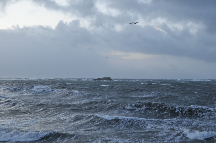 It is always very windy here