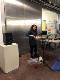 Open House - Lieselle McMahon creating live soundscapes