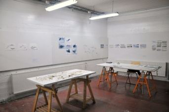 My Studio Space at the Nes Residency