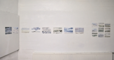 Open House My Studio Wall Watercolours