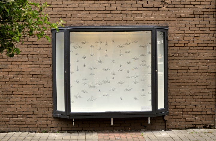 SUPERPOD installation at the Ministry of Casual Living Window Gallery