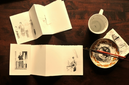 Studio Table Book of the North WIP 01